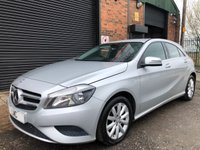 USED 2013 13 MERCEDES-BENZ A-CLASS 1.8 A180 CDI BLUEEFFICIENCY SE 5DR AUTO 1/2 LEATHERSPT SEATSREAR CAMERA