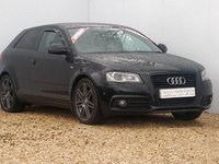 USED 2010 10 AUDI A3 2.0 TDI S LINE SPECIAL EDITION 3d AUTO 168 BHP