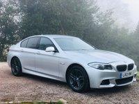 2013 BMW 5 SERIES 2.0 520D M SPORT 4d AUTO 181 BHP £13485.00