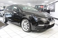 USED 2017 17 SEAT LEON 2.0 TDI FR TECHNOLOGY 150 BHP APPLE CAR PLAY NAV LED LIGHTS