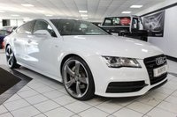 2014 AUDI A7 3.0 BiTDI BLACK EDITION QUATTRO AUTO 313 BHP £23950.00