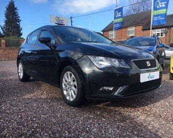 2013 SEAT LEON 1.6 TDI SE DSG 5d AUTO 105 BHP £7995.00