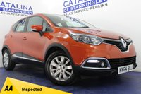 USED 2014 64 RENAULT CAPTUR 1.5 EXPRESSIONPLUS CONVENIENCE ENERGYTCE S/S 5d 90 BHP STUNNING CAR - FREE ROAD TAX - MASSIVE MPG - BEAUTIFUL COLOUR