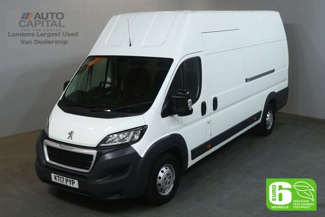 2017 17 PEUGEOT BOXER 2.0 BLUE HDI 435 L4H4 130 BHP EXTRA LWB X/H/ROOF FWD EURO 6 VAN EURO 6 FULL S/H SPARE KEY