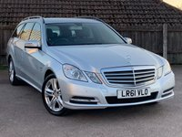 2011 MERCEDES-BENZ E CLASS 2.1 E220 CDI BLUEEFFICIENCY S/S SE 5d AUTO 170 BHP £9495.00