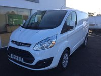 USED 2015 64 FORD TRANSIT CUSTOM 2.2 270 LIMITED   125 BHP SWB