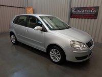 2007 VOLKSWAGEN POLO 1.4 S 5d AUTO 74 BHP £3995.00