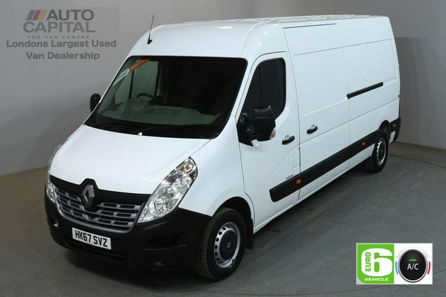 2017 67 RENAULT MASTER 2.3 LM35 BUSINESS DCI 130 BHP LWB EURO 6 AIR CON VAN AIR CONDITIONING EURO 6