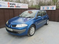 USED 2007 07 RENAULT MEGANE 1.6 DYNAMIQUE VVT 5d 111 BHP FINANCE AVALIBLE FROM £19 PER WEEK OVER TWO YEARS - SEE FINANCE LINK FOR OPTIONS