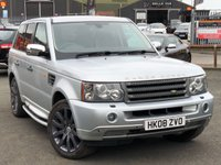 USED 2008 08 LAND ROVER RANGE ROVER SPORT 2.7 TDV6 SPORT HSE 5d AUTO 188 BHP *COLOUR CODED, 20'' ALLOYS, MUST SEE*