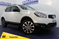 USED 2013 13 NISSAN QASHQAI 1.6 DCI 360 IS 5d 130 BHP GREAT SPEC - SAT NAV - BLUETOOTH - COLOUR TOUCH SCREEN - ALLOYS - 360 CAMERAS - HALF LEATHER