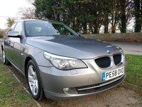 USED 2008 58 BMW 5 SERIES 2.0 520D SE 4d AUTO 175 BHP [WESTBURY SITE]