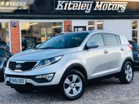 USED 2011 61 KIA SPORTAGE 2.0i 16v KX-2 ALL WHEEL DRIVE 160BHP