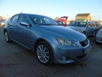 2007 LEXUS IS 2.2 220D SE FULL LEATHER SUNROOF £2295.00