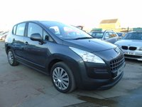 2010 PEUGEOT 3008 1.6 ACTIVE HDI AUTOMATIC MUST SEE CLEAN £3100.00