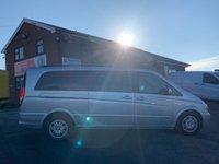 USED 2011 11 MERCEDES-BENZ VIANO 2.1 AMBIENTE CDI BLUEEFFICENCY XLWB 163 BHP 8 SEATER AUTO EXTRA LONG RARE XLWB, NO VAT,AUTO, AC, LEATHER, 8 SEATS, SAT NAV,