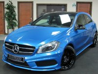 2013 MERCEDES-BENZ A-CLASS 2.1 A220 CDI BLUEEFFICIENCY AMG SPORT 5d AUTO 170 BHP £12999.00