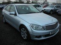 2008 MERCEDES-BENZ C-CLASS 2.1 C220 CDI SE 4d AUTO 168 BHP £3795.00