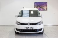 USED 2014 64 VOLKSWAGEN CADDY 1.6 C20 TDI STARTLINE BLUEMOTION TECHNOLOGY 1d 74 BHP FEB 2020 MOT, MP3, AUX, Just Been Serviced, Alloy Wheels, Roof Bars, Side Bars, Tinted Rear Glass