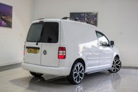USED 2014 64 VOLKSWAGEN CADDY 1.6 C20 TDI STARTLINE BLUEMOTION TECHNOLOGY 1d 74 BHP £8491 + VAT FEB 2020 MOT, MP3, AUX, Just Been Serviced, Alloy Wheels, Roof Bars, Side Bars, Tinted Rear Glass