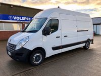USED 2013 13 RENAULT MASTER 2.3 LH35 DCI MAXI ROOF 125 BHP