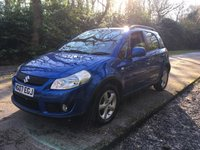 USED 2007 07 SUZUKI SX4 1.6 GLX 5d 106 BHP LOW MILEAGE, AIR CON, FINANCE ME TODAY-UK DELIVERY POSSIBLE