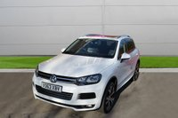 USED 2013 63 VOLKSWAGEN TOUAREG 3.0 V6 R-LINE TDI BLUEMOTION TECHNOLOGY 5d AUTO 242 BHP AUTOMATIC LOW MILEAGE, MANY EXTRAS.FINANCE ME TODAY-UK DELIVERY POSSIBLE