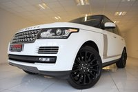 USED 2013 63 LAND ROVER RANGE ROVER 4.4 SDV8 AUTOBIOGRAPHY AUTOMATIC