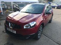 2013 NISSAN QASHQAI 1.6 360 5d AUTO 117 BHP £10999.00