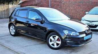2016 VOLKSWAGEN GOLF 1.4 MATCH EDITION TSI BMT 5d 121 BHP £13295.00