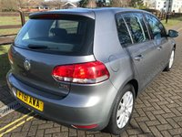 USED 2011 61 VOLKSWAGEN GOLF 1.6 MATCH TDI BLUEMOTION TECHNOLOGY DSG 5d AUTO 103 BHP