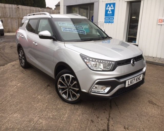 View our SSANGYONG TIVOLI XLV
