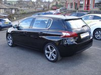 USED 2015 15 PEUGEOT 308 1.2 PURETECH S/S ALLURE 5d AUTO 130 BHP ROAD TAX ONLY £30 A YEAR
