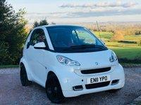 2011 SMART FORTWO 0.8 PASSION CDI 2d AUTO 54 BHP £3685.00