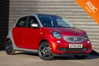 USED 2016 M SMART FORFOUR 0.9 NIGHT SKY PRIME PREMIUM T 5d 90 BHP £0 DEPOSIT BUY NOW PAY LATER - NAVIGATION - LEATHER