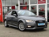 USED 2016 65 AUDI A3 1.6 TDI ULTRA SE TECHNIK 3d 109 BHP STUNNING, ZERO TAX, 1 OWNER, AUDI A3 1.6 TDI ULTRA SE TECHNIK 3 DOOR. Finished in MONSOON GREY METALLIC with contrasting GREY cloth trim. This fantastic facelift model combines a great interior with a refined driving experience. Features include Sat Nav, DAB radio, Rear Park Sensors, B/Tooth Cruise Control and much more.