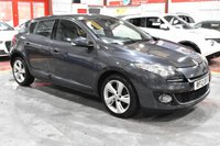 USED 2012 12 RENAULT MEGANE 1.5 DYNAMIQUE TOMTOM ENERGY DCI S/S 5d 110 BHP