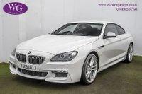 2013 BMW 6 SERIES 3.0 640D M SPORT 2d AUTO 309 BHP £17495.00