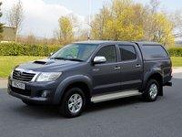 2012 TOYOTA HI-LUX 2.5 HL3 4X4 D-4D DCB 1d 142 BHP £12650.00