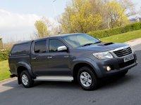 USED 2012 62 TOYOTA HI-LUX 2.5 HL3 4X4 D-4D DCB 1d 142 BHP