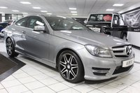USED 2013 13 MERCEDES-BENZ C CLASS C220 CDI AMG SPORT PLUS AUTO BLUEEFFICIENCY 170 BHP 1 FORMER LADY XENONS DAB NAV P