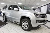USED 2016 16 VOLKSWAGEN AMAROK 2.0 TDI HIGHLINE 4MOTION AUTO 180 BHP FVWSH BIG SCREEN NAV TRUCK TOP