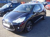 USED 2016 65 DS DS 3 1.2 PURETECH DSTYLE NAV S/S 3d 109 BHP ROAD TAX ONLY £20 A YEAR