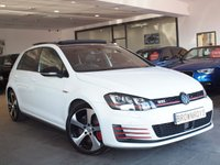 USED 2014 64 VOLKSWAGEN GOLF 2.0 GTI PERFORMANCE DSG 5d AUTO 226 BHP PAN ROOF+LEATHER+R-CAM+FSH