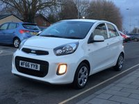 2016 KIA PICANTO 1.0 1 AIR 5d 65 BHP £SOLD