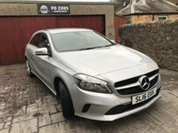 USED 2016 16 MERCEDES-BENZ A CLASS 2.1 A 200 D SPORT 5d 134 BHP 1 OWNER +FULL SERVICE HISTORY+1 YR MOT+£30 TAX+REV CAM+LEATHER+CRUISE