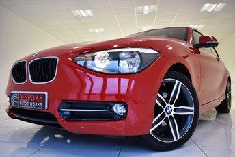 2014 BMW 1 SERIES 116I SPORT 3 DOOR £10250.00