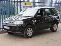 2010 LAND ROVER FREELANDER 2.2 SD4 GS 5d AUTO 190 BHP £8000.00