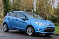 2012 FORD FIESTA 1.4 TITANIUM TDCI 5d 69 BHP £5490.00