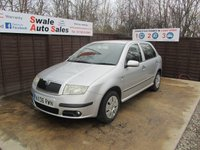 USED 2006 06 SKODA FABIA 1.4 AMBIENTE 16V 5d 99 BHP FINANCE AVAILABLE FROM £29 PER WEEK OVER TWO YEARS - SEE FINANCE LINK FOR DETAILS